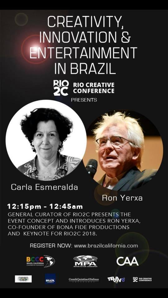 Seminar: Creativity, Innovation and Entertainment in Brazil promoted by the Brazil California Chamber of Commerce