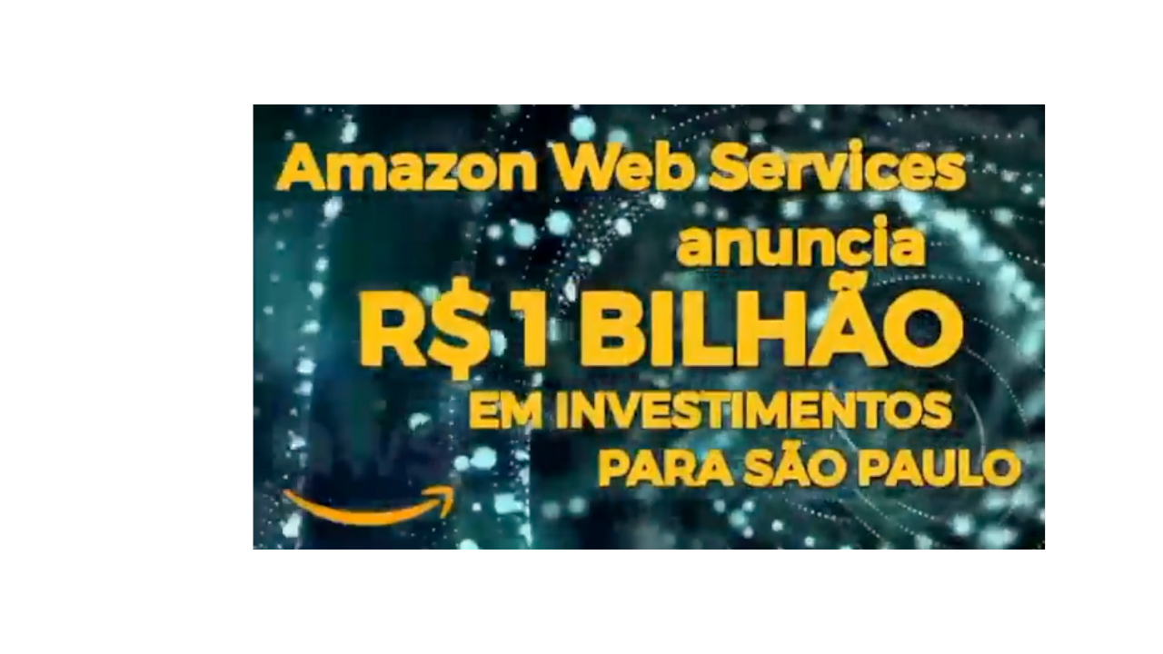 Significant investment announced in São Paulo by AWS - a direct result of the visit of Governor João Doria to California last year, facilitated by the Brazil California Chamber of Commerce.