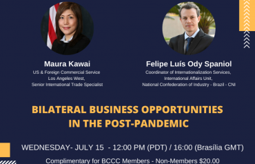 BILATERAL BUSINESS OPPORTUNITIES IN THE POST-PANDEMIC