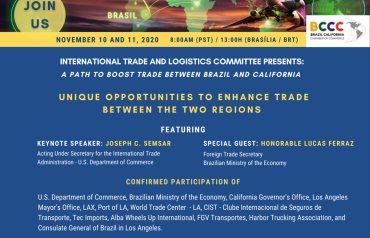 Web Conference: A Path To Boost International Trade Between Brazil and California